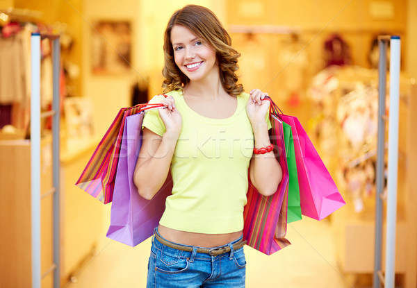Successful shopping Stock photo © pressmaster