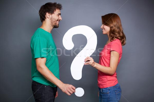 Big question Stock photo © pressmaster