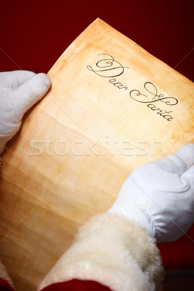 Letter to Santa Stock photo © pressmaster