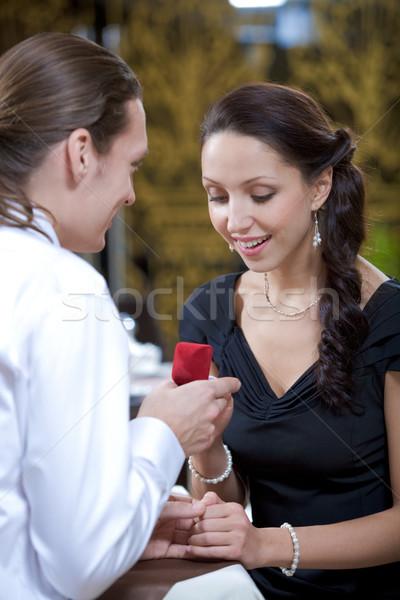 Proposal Stock photo © pressmaster