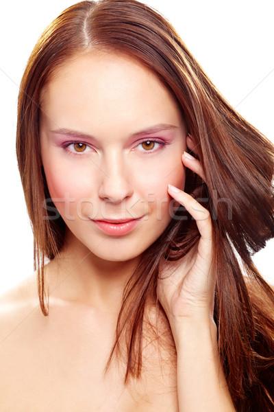 Beautiful hair Stock photo © pressmaster