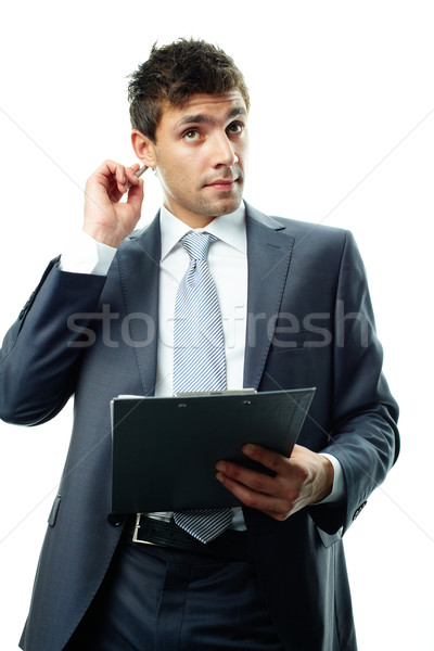 Man with plan Stock photo © pressmaster