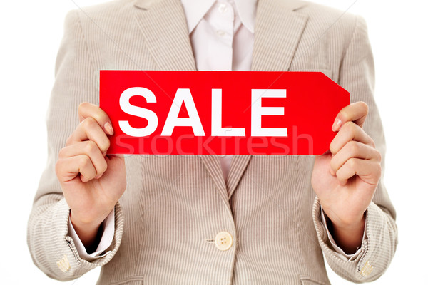 Sale announcement Stock photo © pressmaster