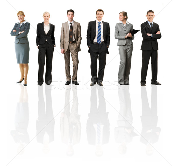 ストックフォト: ビジネス · ファッション · コラージュ · いくつかの · ビジネスの方々 · 異なる