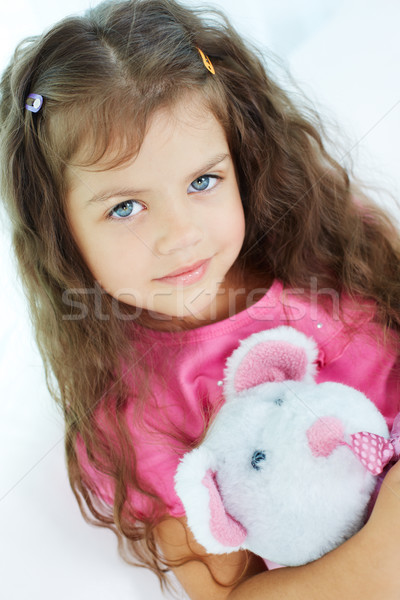 Girl with toy Stock photo © pressmaster