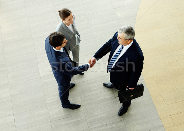 Business agreement Stock photo © pressmaster