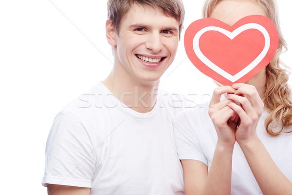 My sweetheart Stock photo © pressmaster