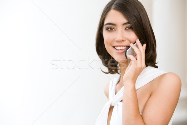 Woman with telephone  Stock photo © pressmaster