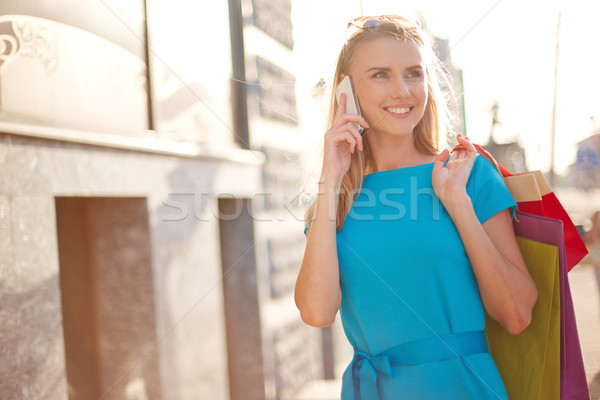 Modern shopper Stock photo © pressmaster
