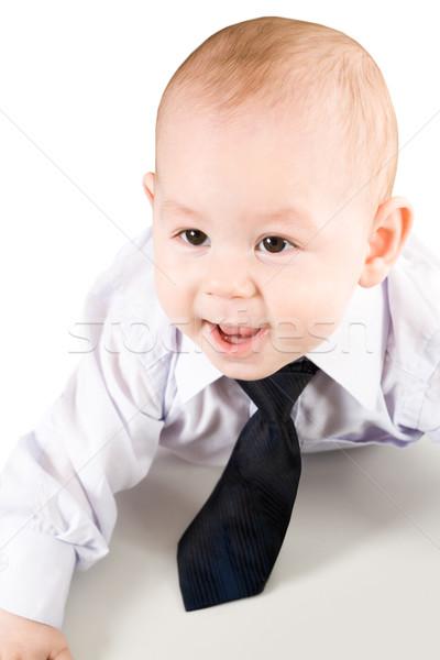 Little businessman Stock photo © pressmaster