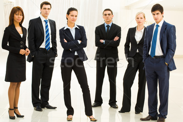 Contemporary employees Stock photo © pressmaster