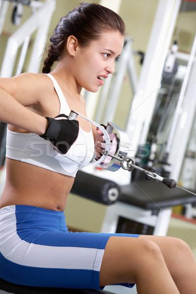 Strong athlete Stock photo © pressmaster