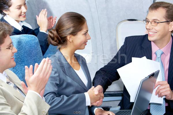 Striking deal Stock photo © pressmaster