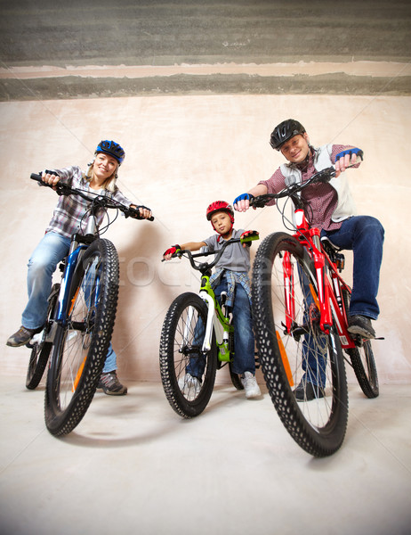 Modern bikers Stock photo © pressmaster