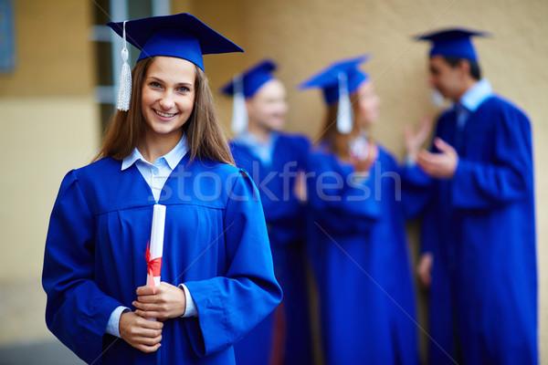 Graduation girl Stock photo © pressmaster