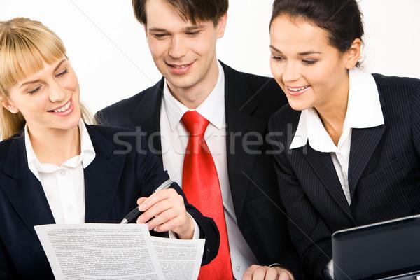 Сток-фото: изображение · люди · глядя · бизнеса · человека