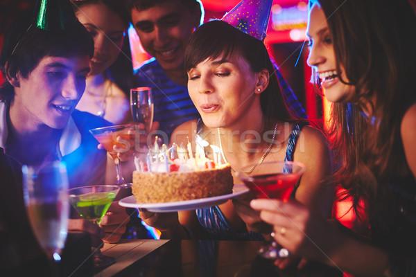 Birthday wish Stock photo © pressmaster