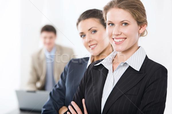 üzlet vállalkozók portré sikeres férfi nő Stock fotó © pressmaster
