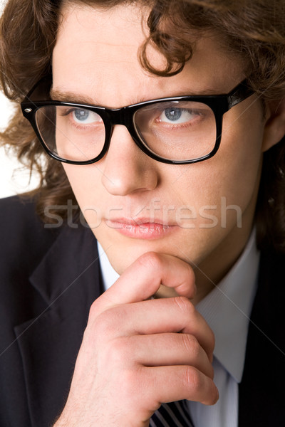 Thoughtful man Stock photo © pressmaster