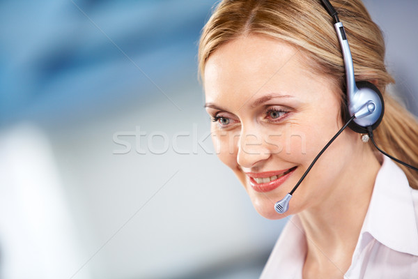 Customer support representative Stock photo © pressmaster