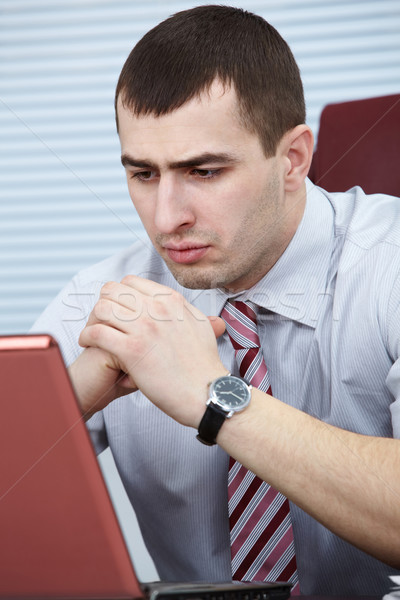 Troubled businessman  Stock photo © pressmaster