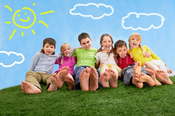 Relaxing children  Stock photo © pressmaster