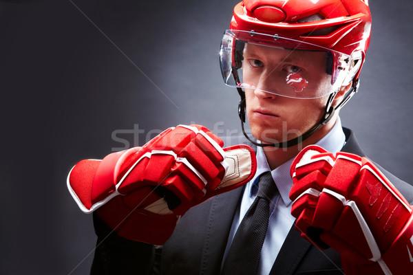 Stock photo: Sportsman