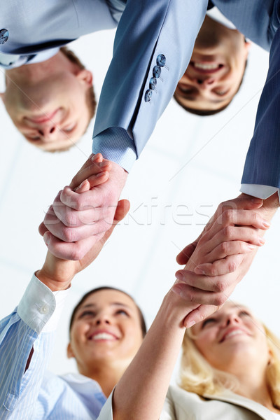 Handshaking partners Stock photo © pressmaster