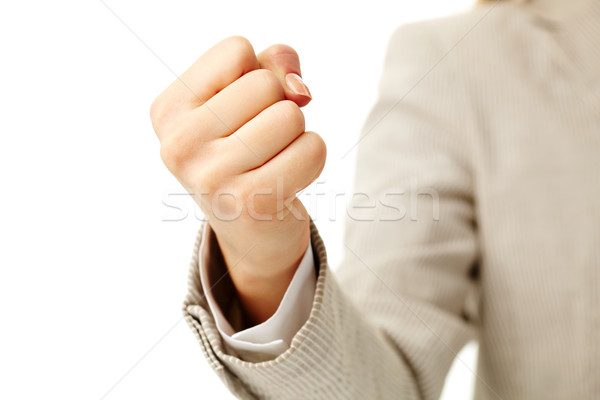 Human fist  Stock photo © pressmaster