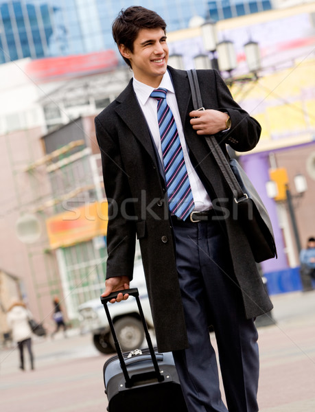 Traveller Stock photo © pressmaster