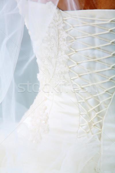 Back of bride Stock photo © pressmaster
