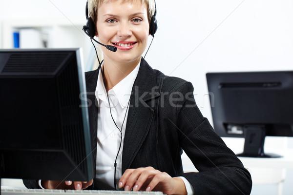 Face of company  Stock photo © pressmaster