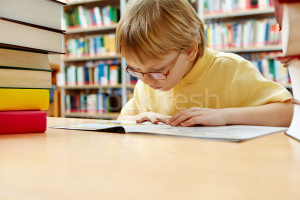 Interesting book Stock photo © pressmaster
