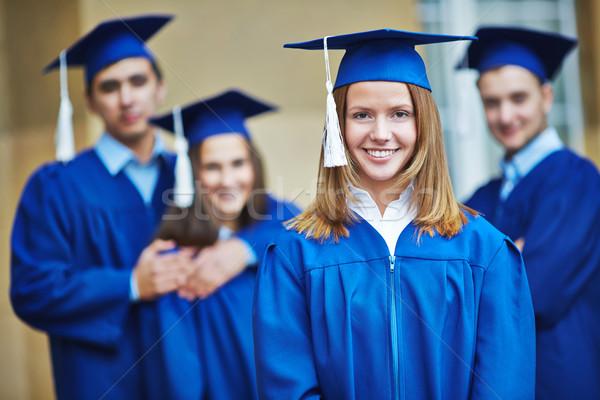 Successful graduate Stock photo © pressmaster