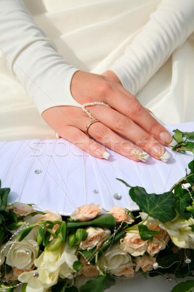 Hands of bride  Stock photo © pressmaster