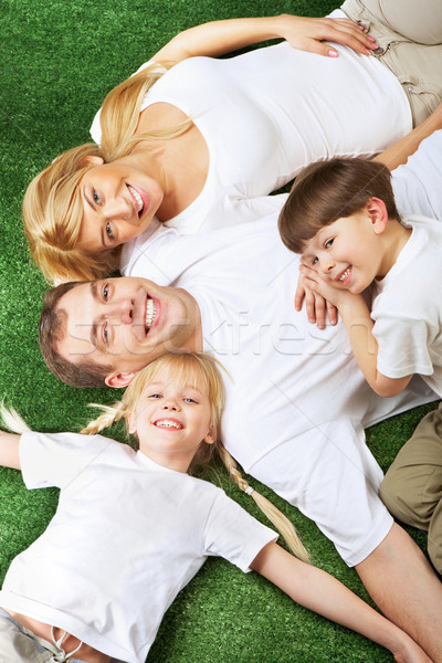 Resting family Stock photo © pressmaster