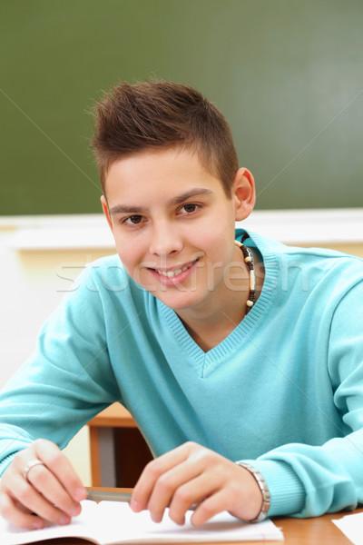 Teenage pupil Stock photo © pressmaster