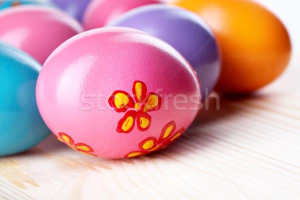 Stock photo: Easter eggs