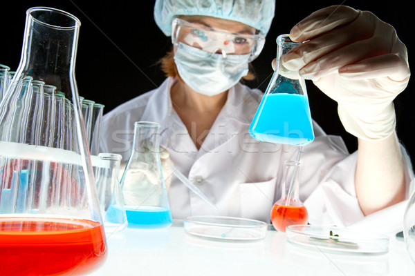 Stock photo: Medical experiment