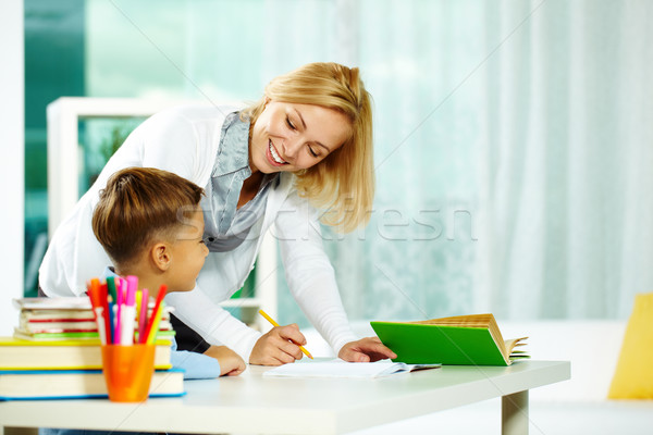 Stock photo: Correcting mistakes