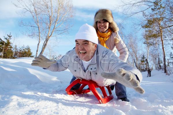 Winter happiness Stock photo © pressmaster
