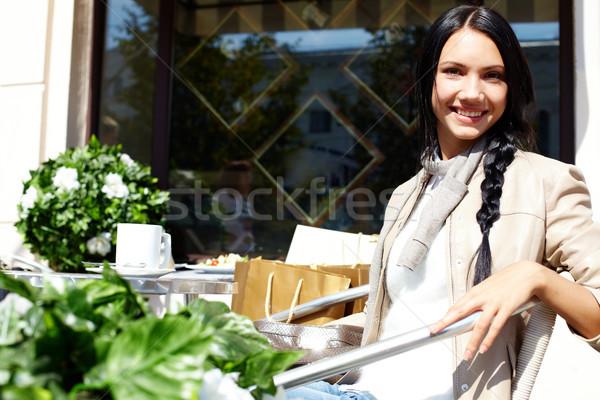 Shopper outside Stock photo © pressmaster
