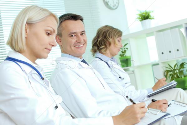 Successful physician Stock photo © pressmaster