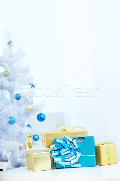 Christmas gifts Stock photo © pressmaster
