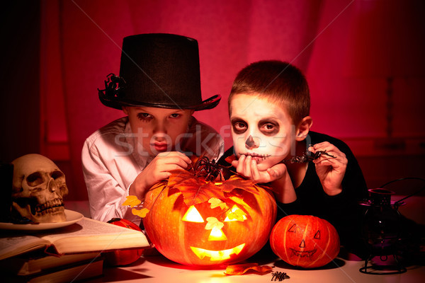 Halloween night Stock photo © pressmaster
