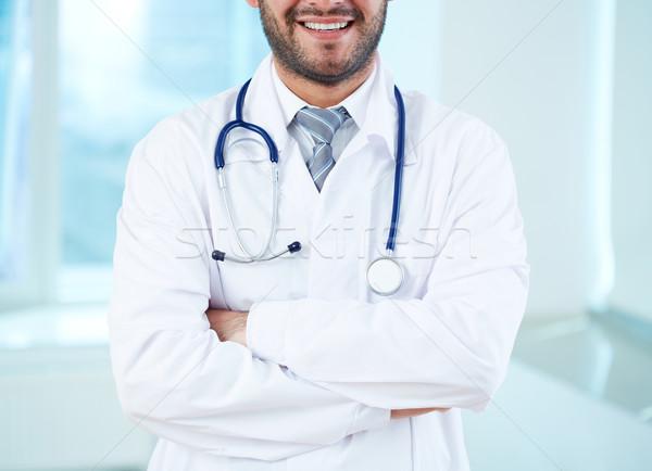 Smiling physician Stock photo © pressmaster