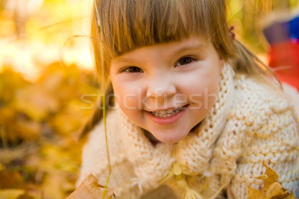 Autumnal positivity Stock photo © pressmaster