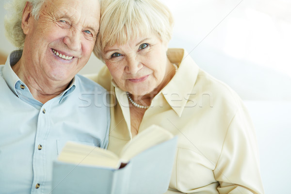 幸せ 肖像 率直な 読む ストックフォト © pressmaster