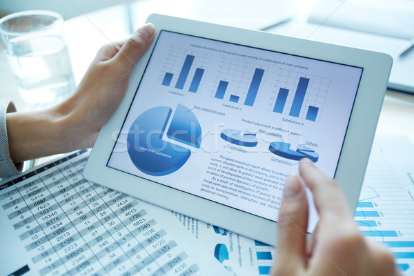 Statistics Stock photo © pressmaster