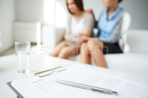Medical card Stock photo © pressmaster